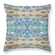 Skies And Seas Throw Pillow