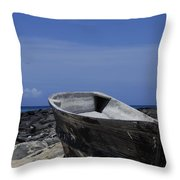 Skiff Throw Pillow
