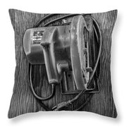 Skilsaw Top Throw Pillow