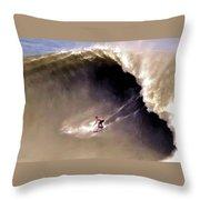 Skimmer B Domke Throw Pillow