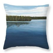 Skinners Bay Muskoka Throw Pillow
