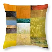Skinny Color Study L Throw Pillow