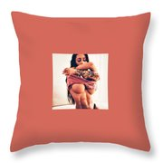 Skinny Guys To Gain Muscle Fast Throw Pillow