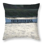 Skirixen Usa Throw Pillow