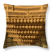 Skn 1323 Endearing Carvings Throw Pillow