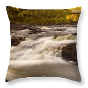 Skootamata River Throw Pillow