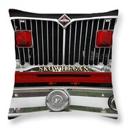 Skowhegan Maine Firetruck Grill Throw Pillow
