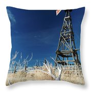 Desert Solitaire. Throw Pillow