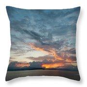 Peaceful Sky #2 Throw Pillow