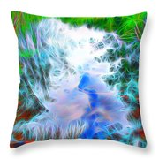 Sky Above Young Vision Below Throw Pillow