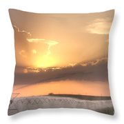 Sky And Water Throw Pillow