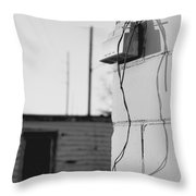 Sky And Wire Throw Pillow
