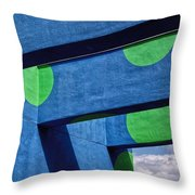 Sky Archway Throw Pillow