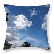 Sky Before The Storm Throw Pillow