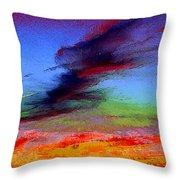 Sky Blastin Throw Pillow