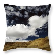 Sky Blue Sky Throw Pillow