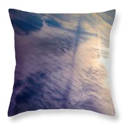 Sky Cross Throw Pillow