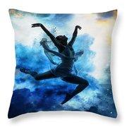 Sky Dancer 1 Throw Pillow