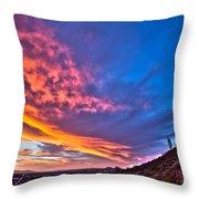Sky Dream Throw Pillow