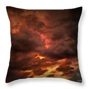 Sky Fury Throw Pillow