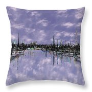 Sky Harbor Throw Pillow