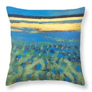 Sky In The Ripples Throw Pillow