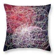 Sky Light - 6044 Throw Pillow