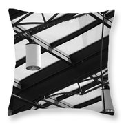 Sky Lights Throw Pillow