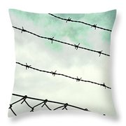 Sky Limited Throw Pillow
