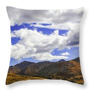 Sky On The Divide Throw Pillow