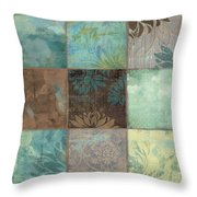 Sky Patches I Throw Pillow