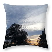 Sky Patchworks Throw Pillow