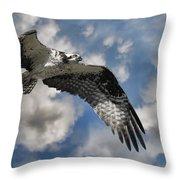Sky Pilot Throw Pillow