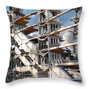 Sky Ramp Throw Pillow