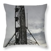 Sky Ranched Throw Pillow