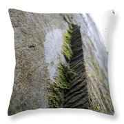 Sky Rock Throw Pillow