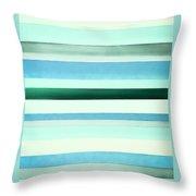 Sky Stripes 13 Throw Pillow