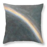 Sky Study With Rainbow Throw Pillow