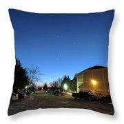 Sky Time Throw Pillow