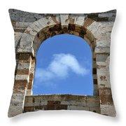 Sky Window Throw Pillow