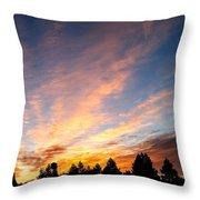 Skyfire Throw Pillow