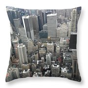 Skyhigh Throw Pillow