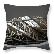 Skylight Gurders Throw Pillow