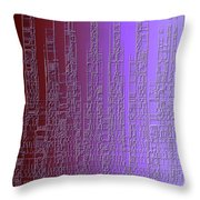Skyline 3 Throw Pillow