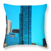 Skyline From Grant Park Dsc2417 Throw Pillow