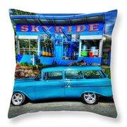 Skyride Throw Pillow