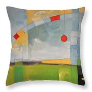 Skyride Throw Pillow