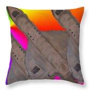Skyriders Throw Pillow