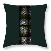 Skyscraper Abstract L Throw Pillow