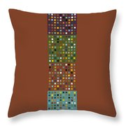 Skyscraper Abstract Ll Throw Pillow